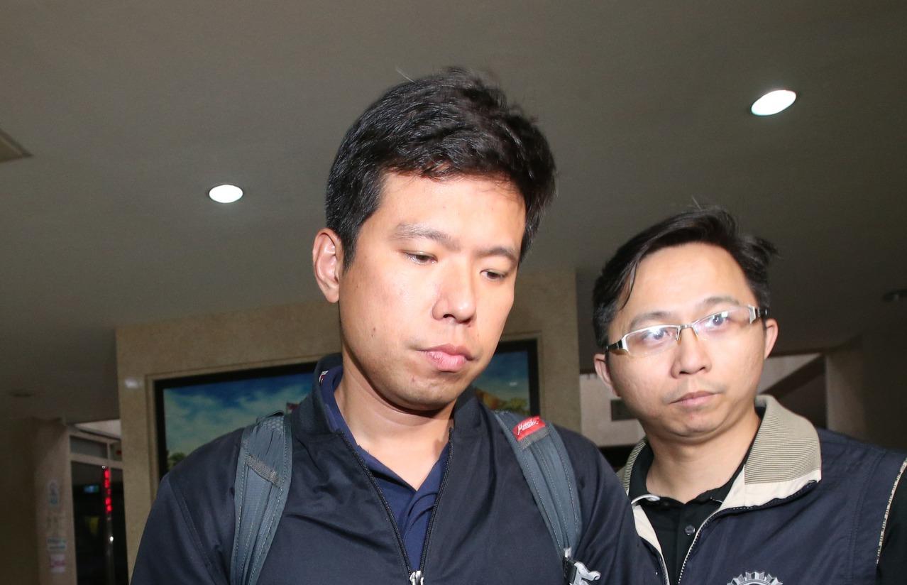 國安局少校吳宗憲涉與華航員工走私菸品遭聲押。記者葉信菉/攝影