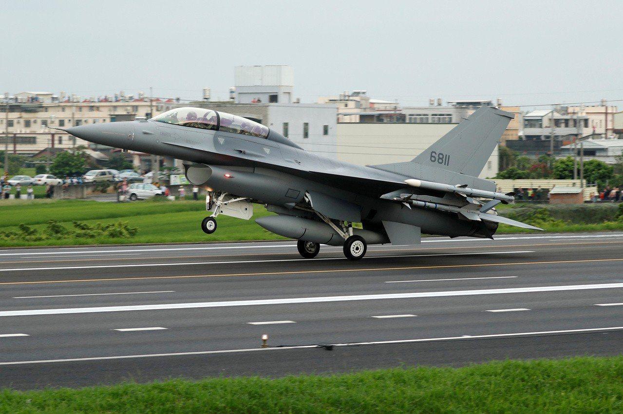 F-16V戰機。路透