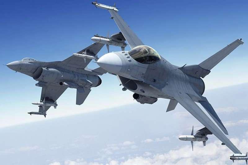 F-16V戰鬥機。圖/洛克希德馬丁