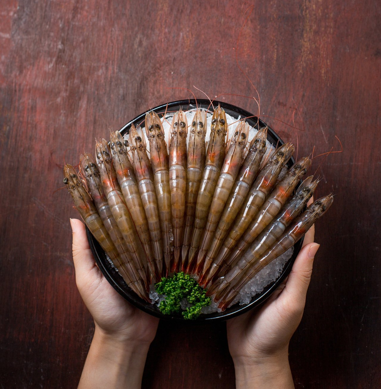 北海道昆布鍋連鎖餐廳「聚」,自即日起推出「1塊吃蝦+15元」的優惠活動。圖/業者...