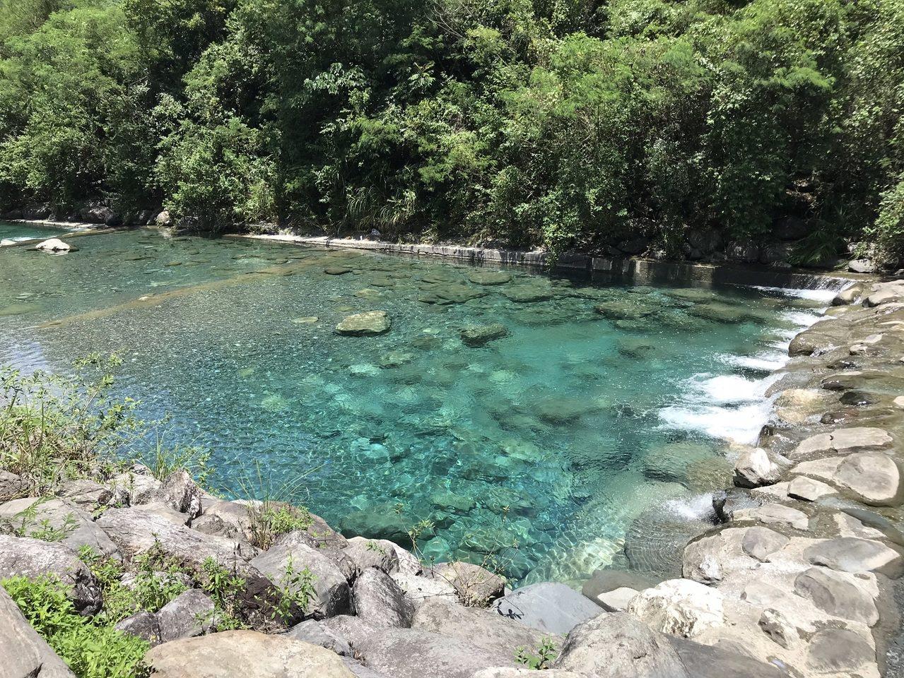 花蓮沙婆礑溪今發生兩名孩童溺水意外。記者王燕華/攝影