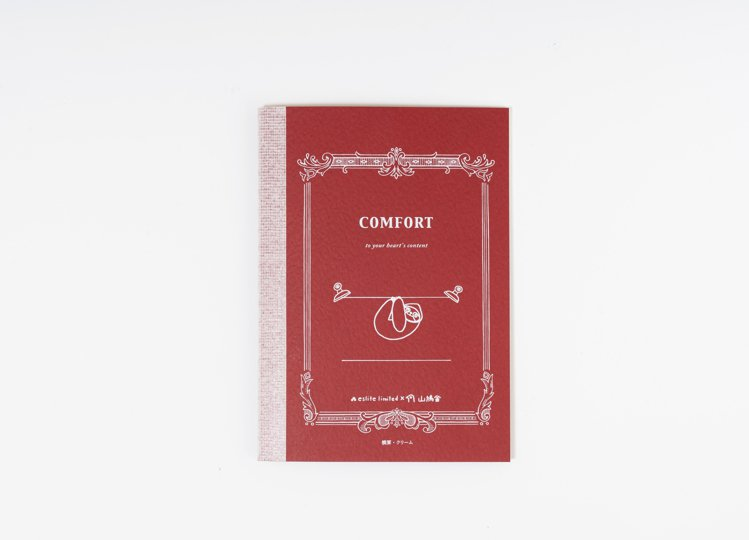 有日本「國民筆記本」之稱的TSUBAME筆記本與「山鳩舍」聯名。圖/誠品書店提供