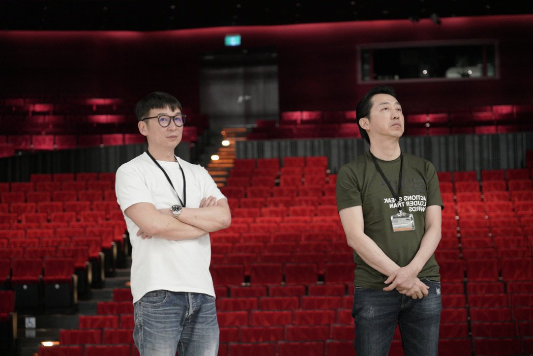 哈林(右)和陳鎮川攜手打造音樂劇「西哈遊記-魔二代再起」。圖/耳東劇團提供