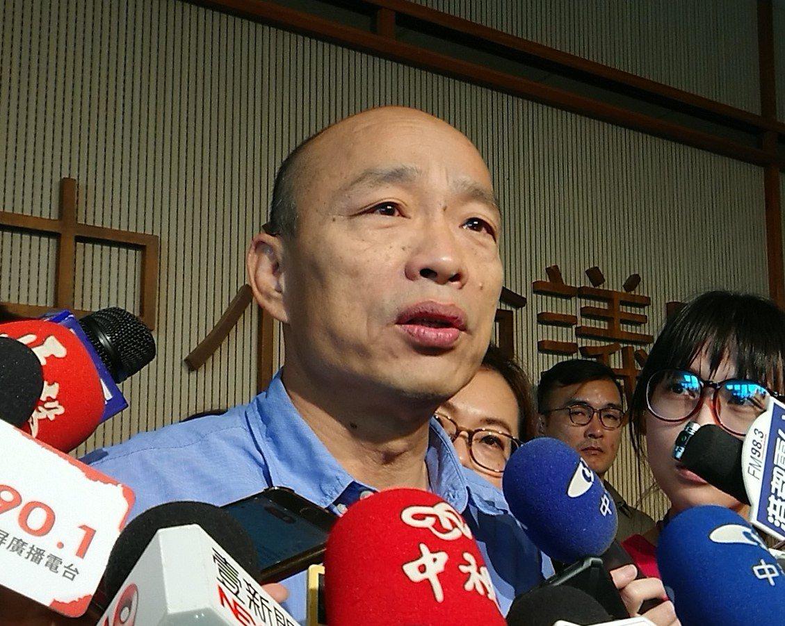 高雄市長韓國瑜24日將到茂林夜宿,將在原住民家庭住上一晚,了解他們的相關需求。記...