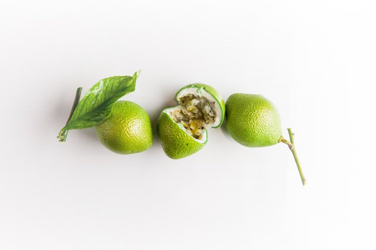 CG一砲而紅的擬真水果甜點綠檸檬,售價725元。圖/業者提供