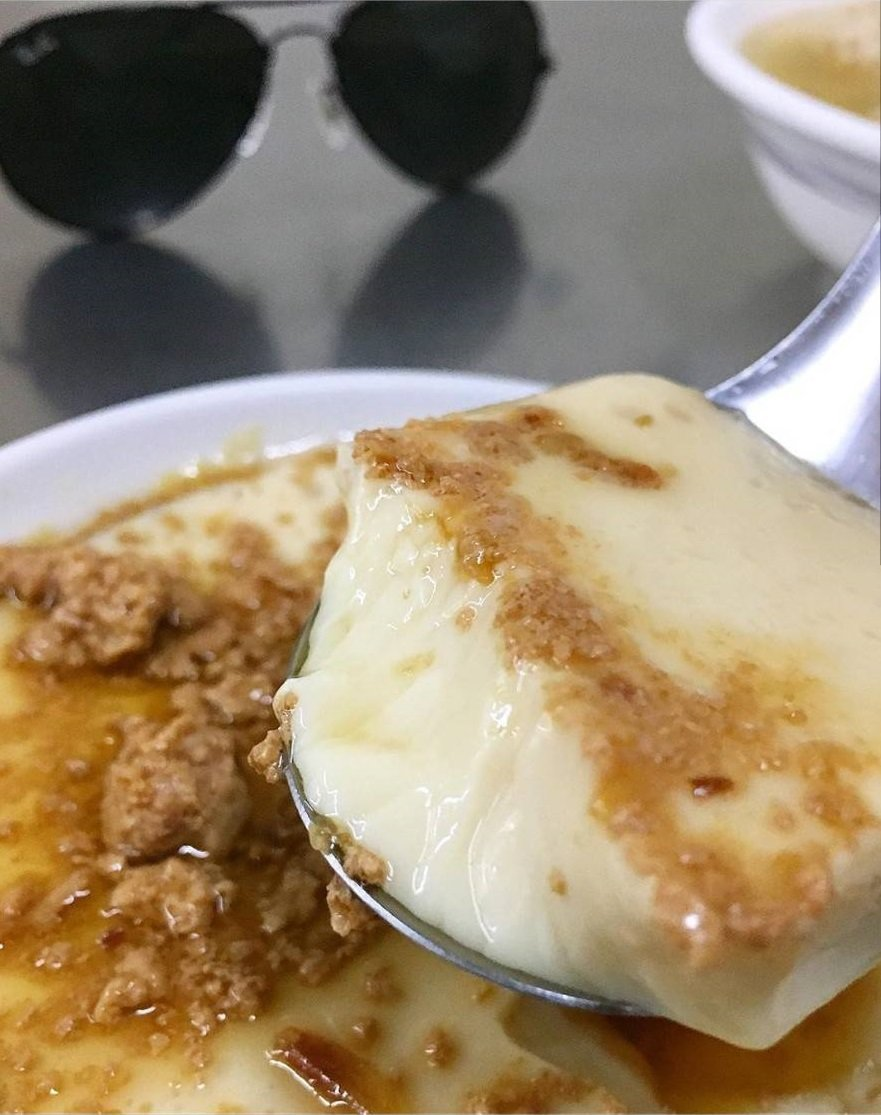 網友推薦一定要來份滑嫩的古早味炊蛋。圖/IG m__drift提供