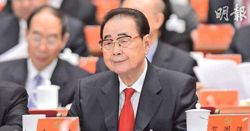 中共國務院前總理李鵬22日在北京逝世。取自香港明報