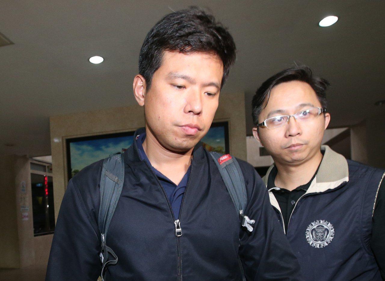 總統官邸警衛室少校吳宗憲(左)遭收押。圖/報系資料照片
