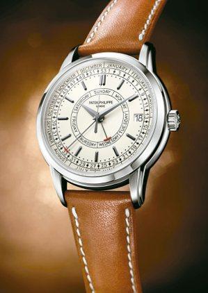 百達翡麗編號5212A-001週曆不鏽鋼腕表,101萬8,000元。 圖/百達翡...