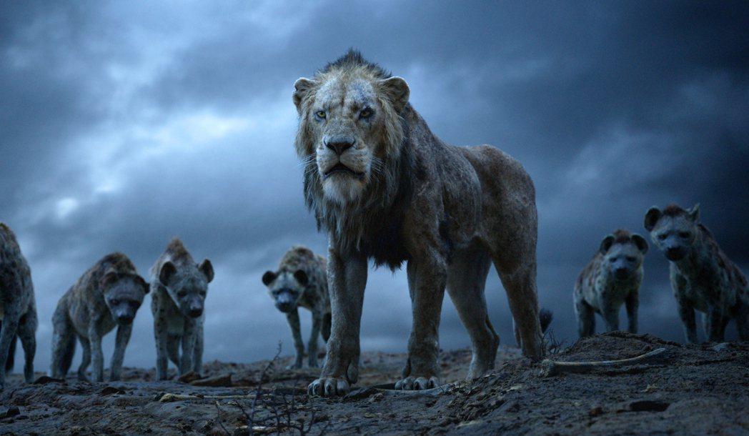 電影「獅子王」中的反派角色「刀疤」。 (美聯社)