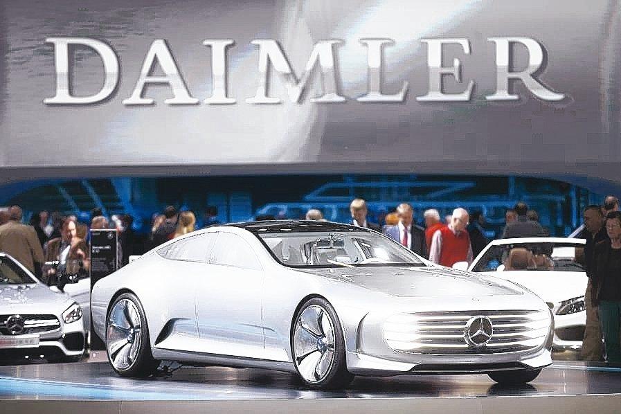 北京汽車集團已經完成收購戴姆勒5%股份。 路透