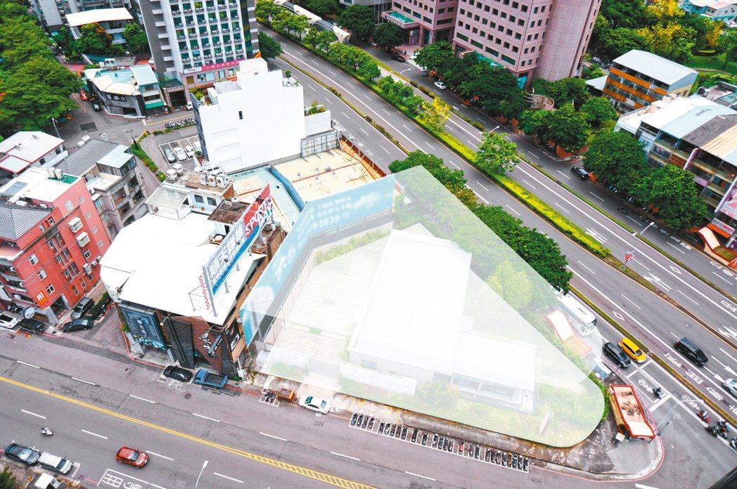 台中台灣大道、公益路482坪角地將在8月27日公開標售,底價6.26億元。 業者...
