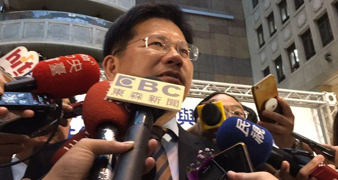 交通部長林佳龍。記者吳姿賢/攝影