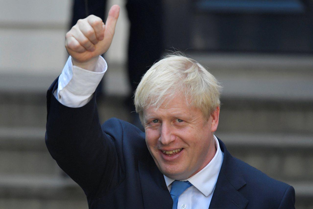 強生可能是自二次大戰的邱吉爾以來,一上任就面對最艱難挑戰的英國首相。 路透社