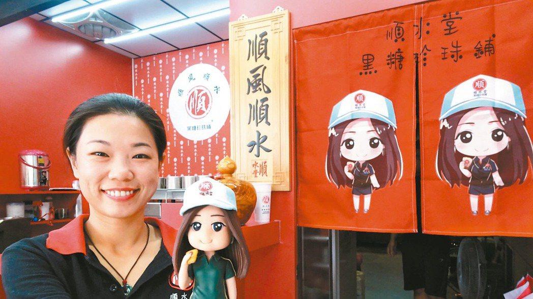 裝甲部隊女班長退役的張奈鈺自創恆春在地品牌「順水堂」,希望打造出讓恆春人驕傲的手...