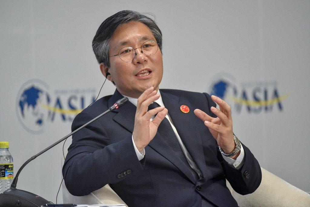 圖為韓國產業通商資源部長官成允模。 中新社
