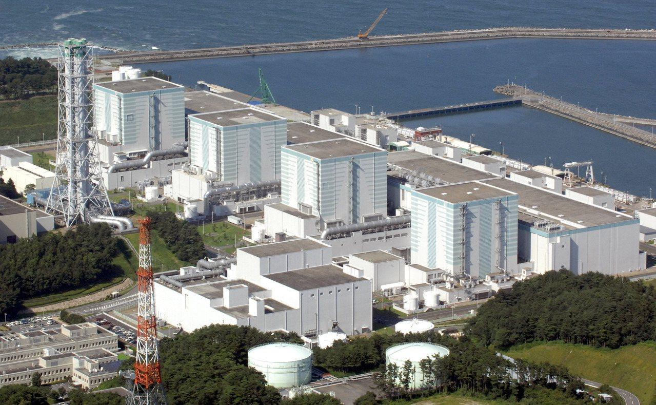圖為福島第二核電廠(Fukushima Daini)。 美聯社