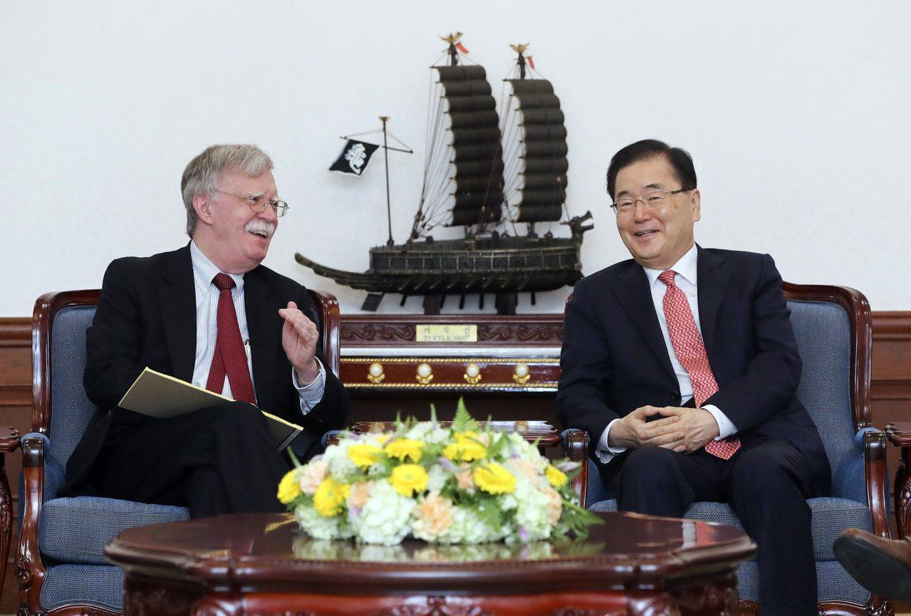 美國國家安全顧問波頓(John Bolton)24日會見南韓官員,商討重大的雙邊...