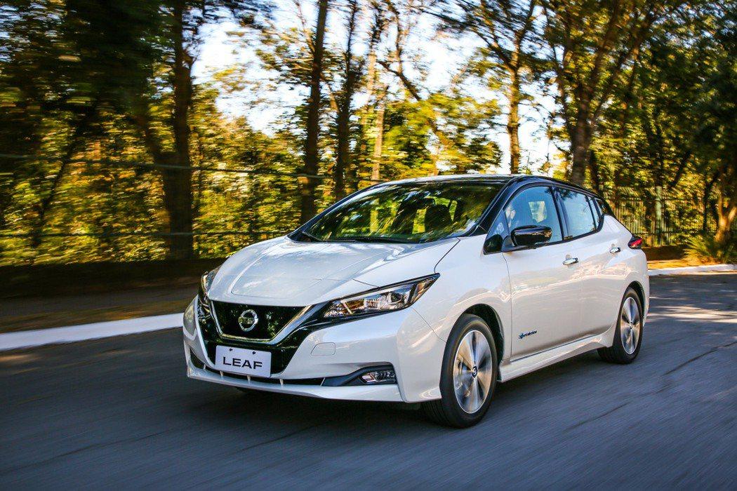 Nissan Leaf預計九月就會登台上市。 摘自Nissan