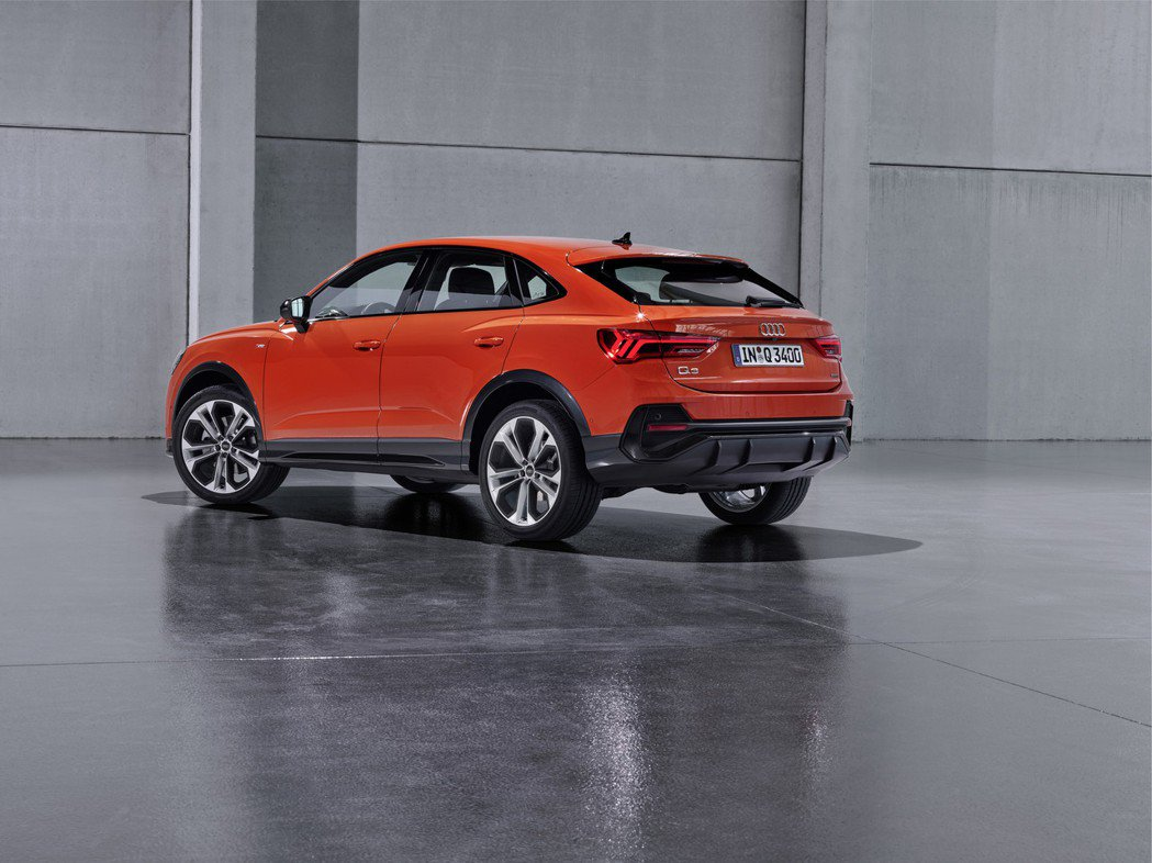 全新Audi Q3 Sportback。 摘自Audi