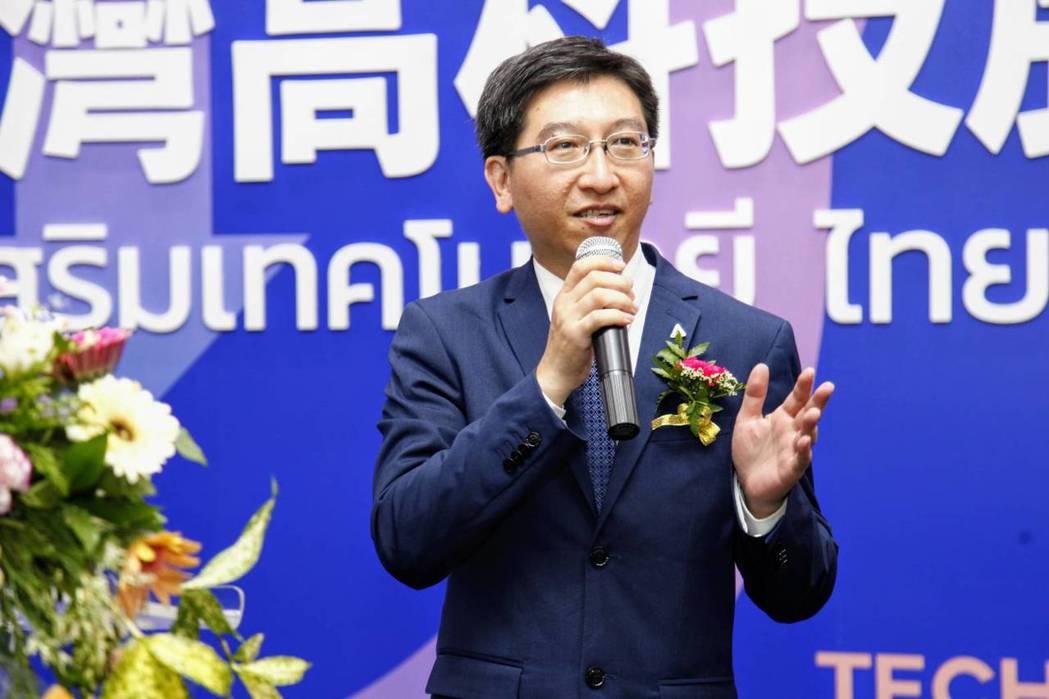亞洲.矽谷計畫執行中心行政長李博榮現場致詞。 亞洲.矽谷計畫辦公室/提供。