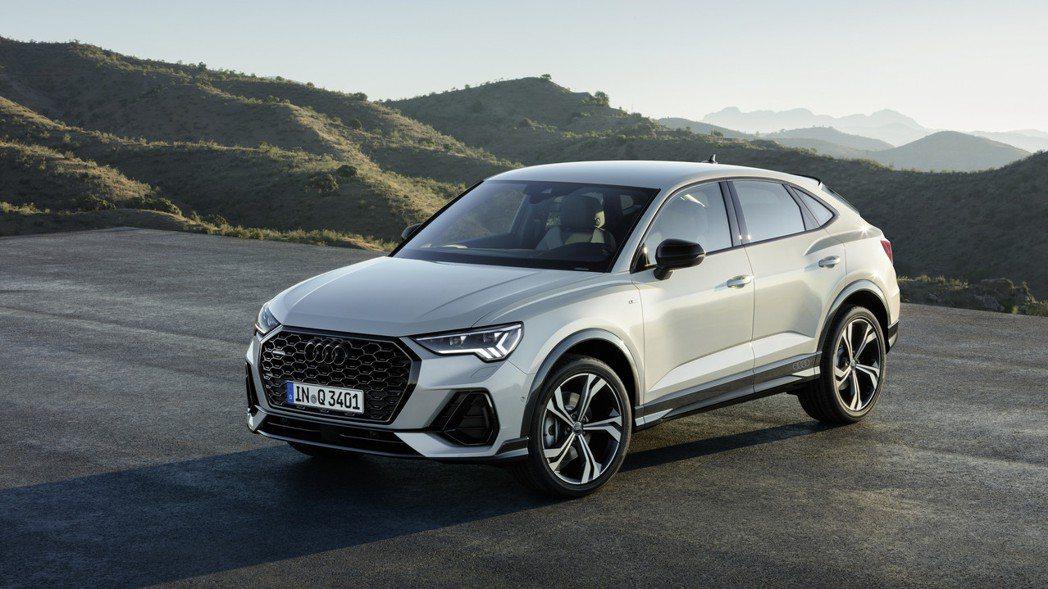 全新Audi Q3 Sportback將於今年秋季率先於歐洲上市,未來還將新增多...
