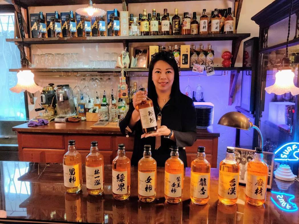 曹珍珍說,特色出眾的酒標加上日本威士忌的溫馴順口,各種中西餐都是賓主盡歡,非常百...