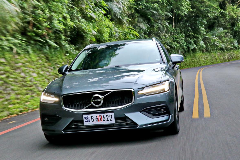 優雅美型北歐旅行車 VOLVO V60售價190萬元起
