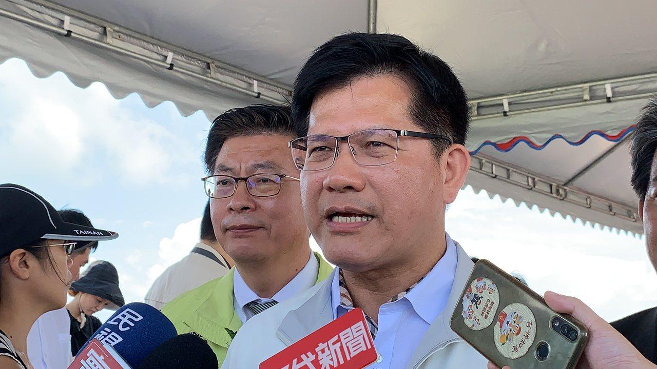 交通部長林佳龍。記者吳淑玲/攝影