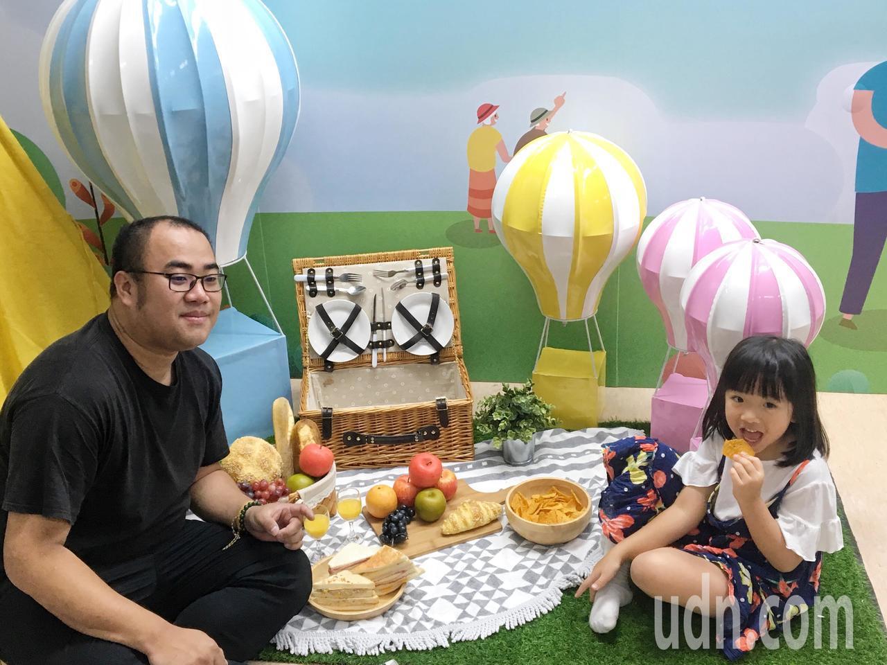 活動當天有熱氣球體驗、園遊會和闖關活動,適合親子同樂。記者郭頤/攝影