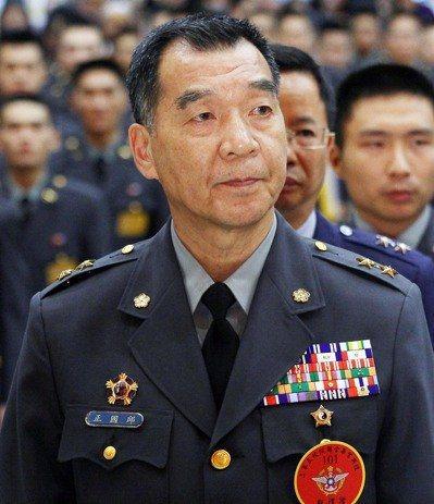 退輔會主委邱國正將轉任國家安全局長。本報資料照片