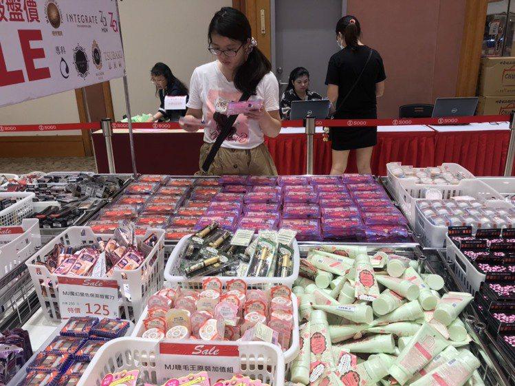 日本開架品牌特賣會,即日起至7/29在忠孝SOGO 12F活動會館登場。圖/SO...