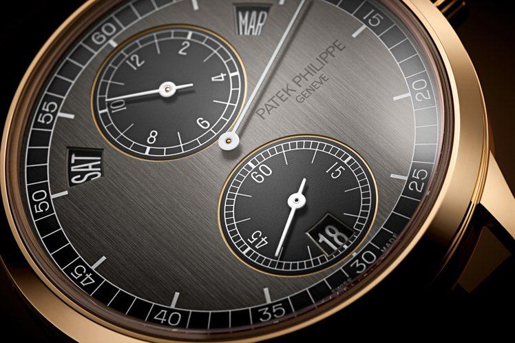 百達翡麗編號5235/50R-001年曆三針一線玫瑰金腕表,157萬,7000元...