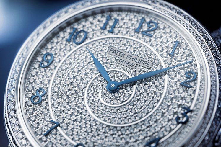 百達翡麗Diamond Ribbon編號4978/400G-001高級珠寶腕表,...