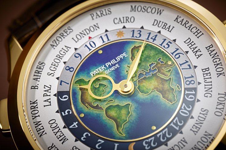 百達翡麗編號5231J-001世界時區腕表,224萬2,000元。圖/百達翡麗提...