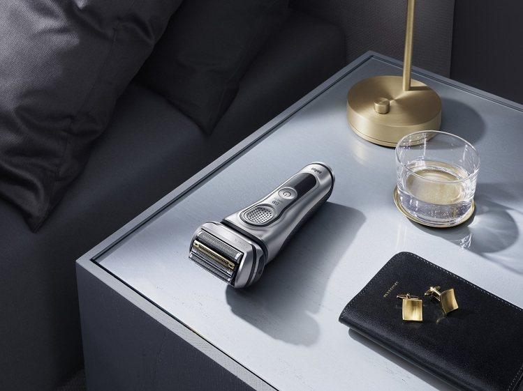 德國百靈S9系列首創音波科技,刮得更乾淨、快速、舒適。圖/恆隆行提供