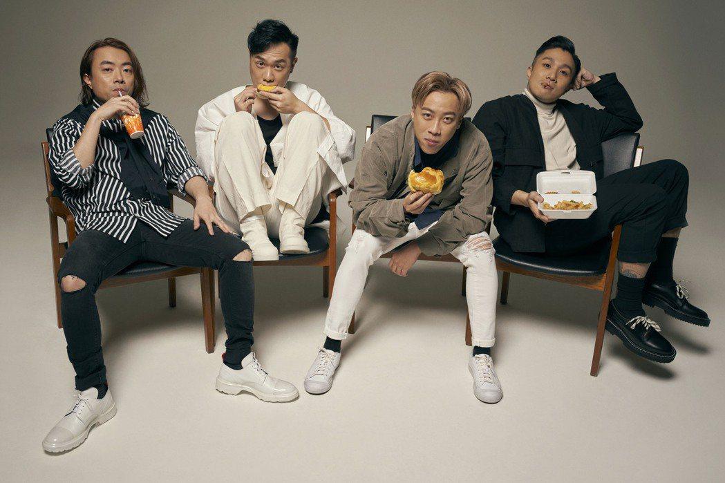 香港樂團「Supper Moment」推出首張國語專輯。圖/奇蹟娛樂提供