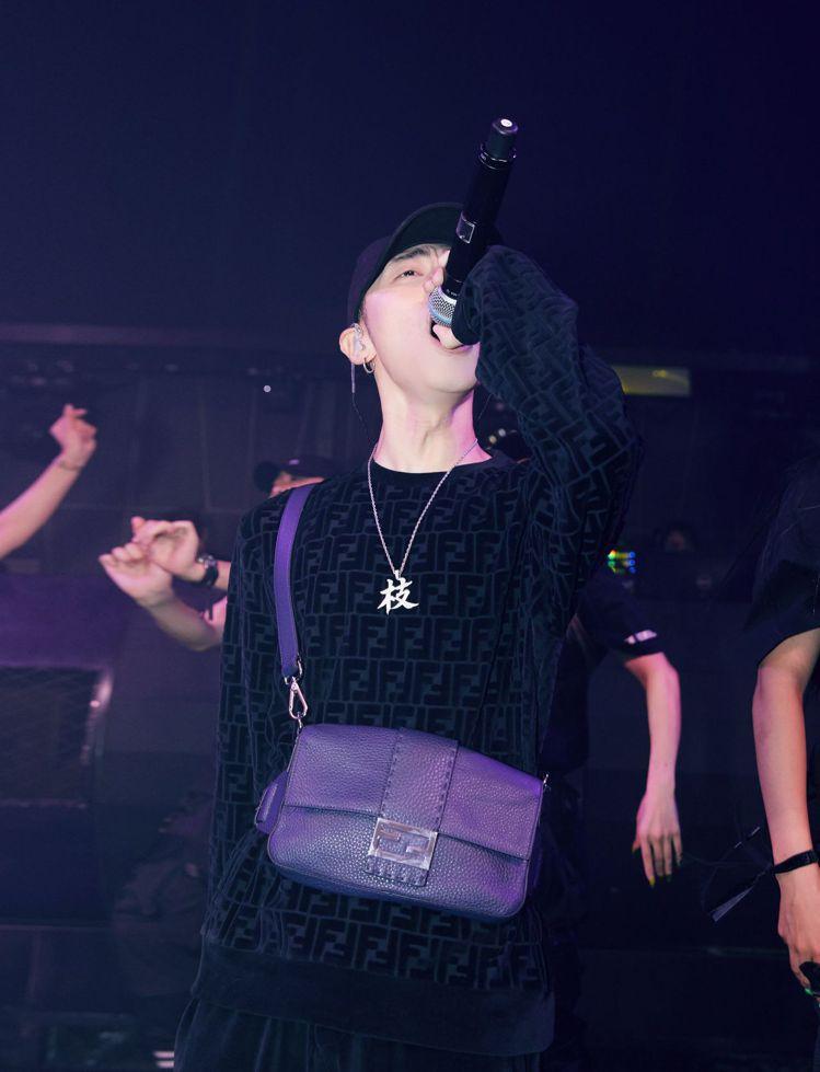 ICE為FENDI x Jackson Wang派對演唱嘉賓。圖/FENDI提供...