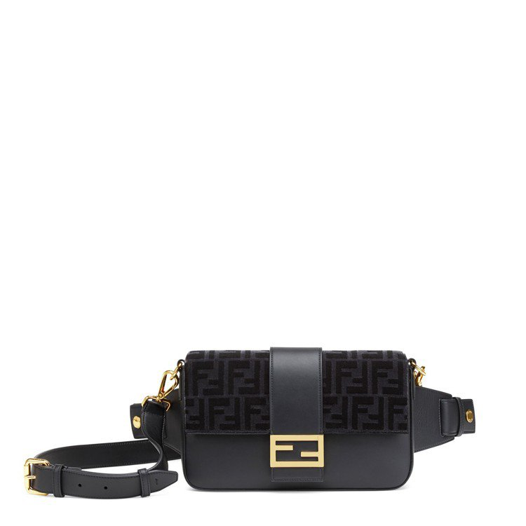 FENDI x Jackson Wang的Baguette腰包,台灣未進貨。圖/...