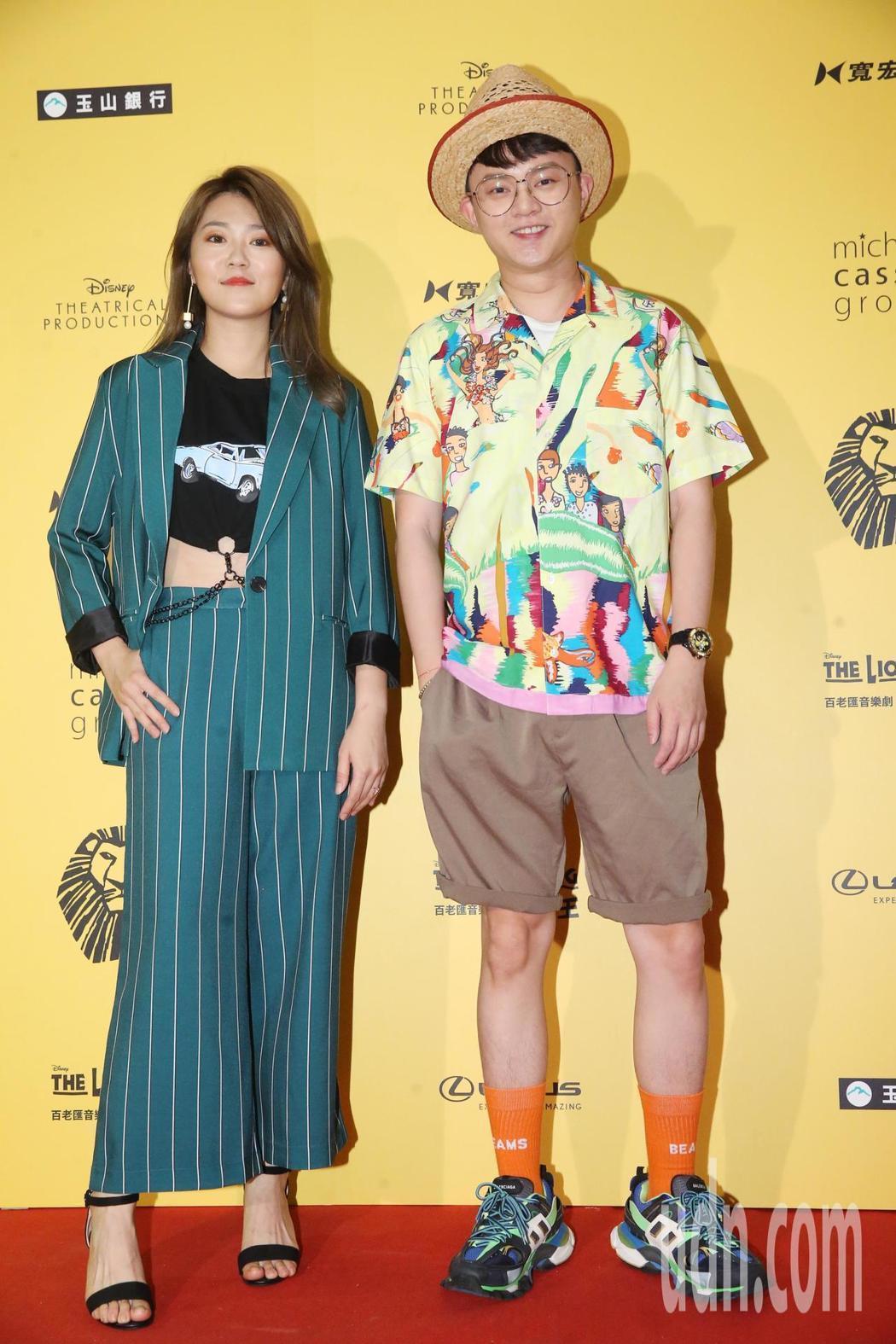 曹雅雯(左)、許富凱。記者徐兆玄/攝影