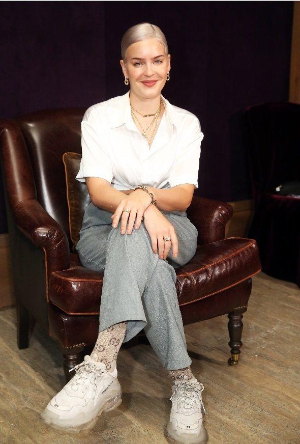 安瑪莉曾在年初「全英音樂獎」入圍名單上大出風頭。記者徐兆玄/攝影