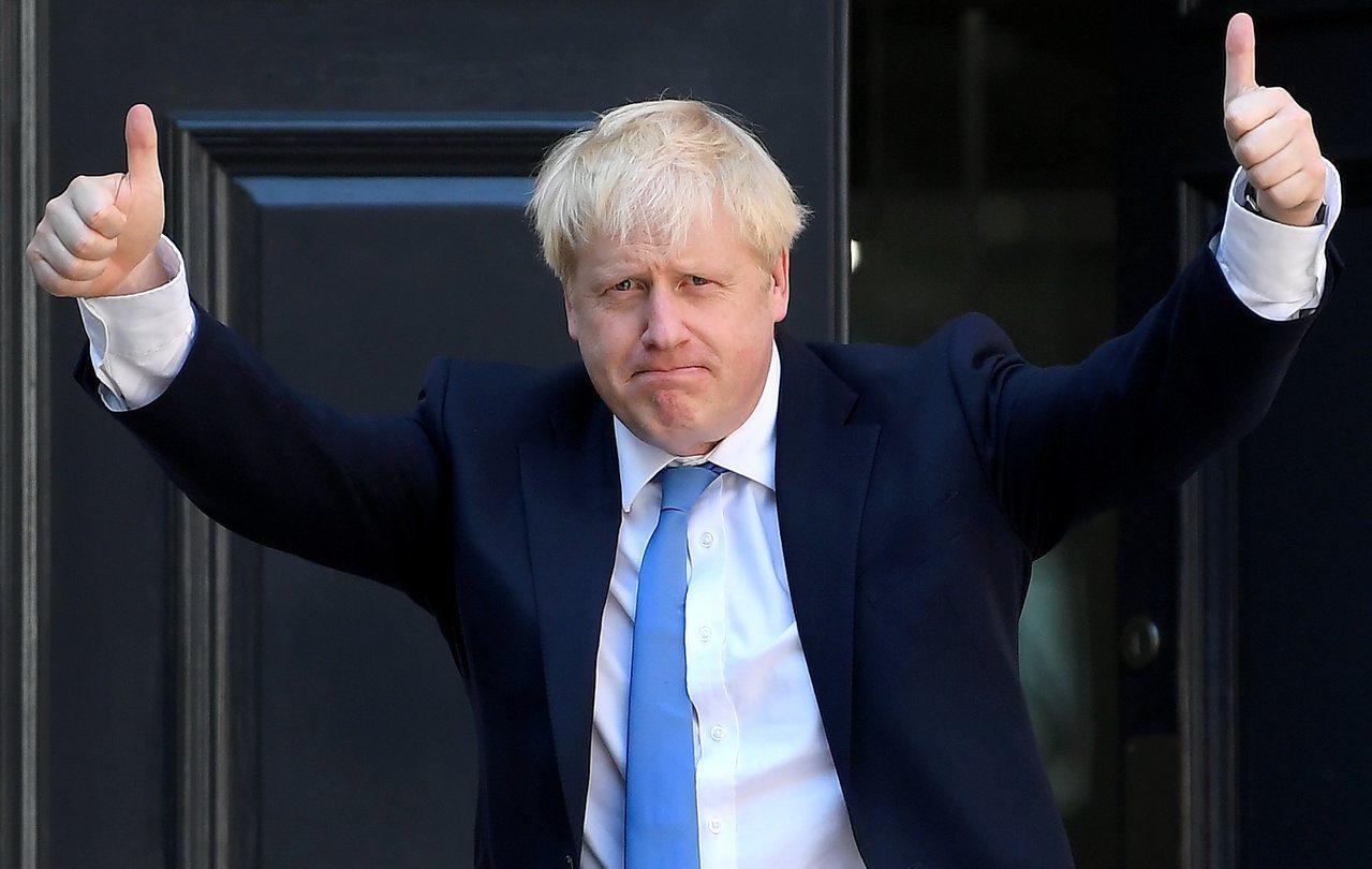 英國首相強生的曾祖父來自土耳其。路透