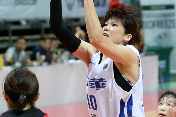 瓊斯盃女籃/蔡佩真返國家隊 華格納:打得像20歲