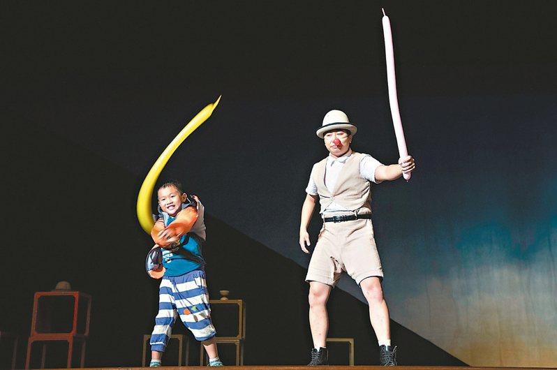 「福爾摩沙馬戲團」為台灣首支登上國際的馬戲表演團隊。 圖/聯合數位文創提供