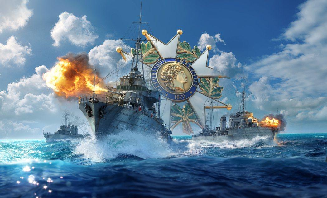 本次更新了多艘搶先體驗的法國驅逐艦
