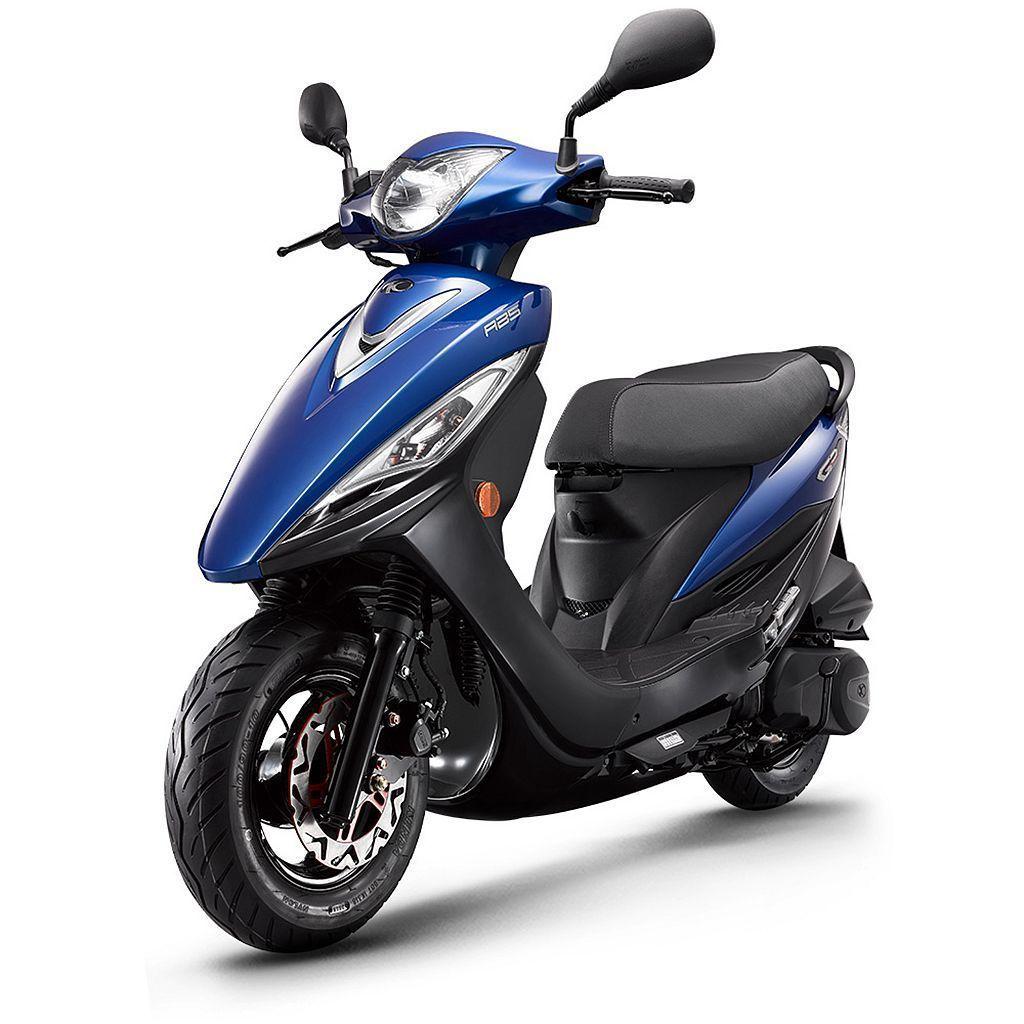 平價機種光陽GP125 ABS原台幣59,600元,減去政府汰舊換新補助4,80...