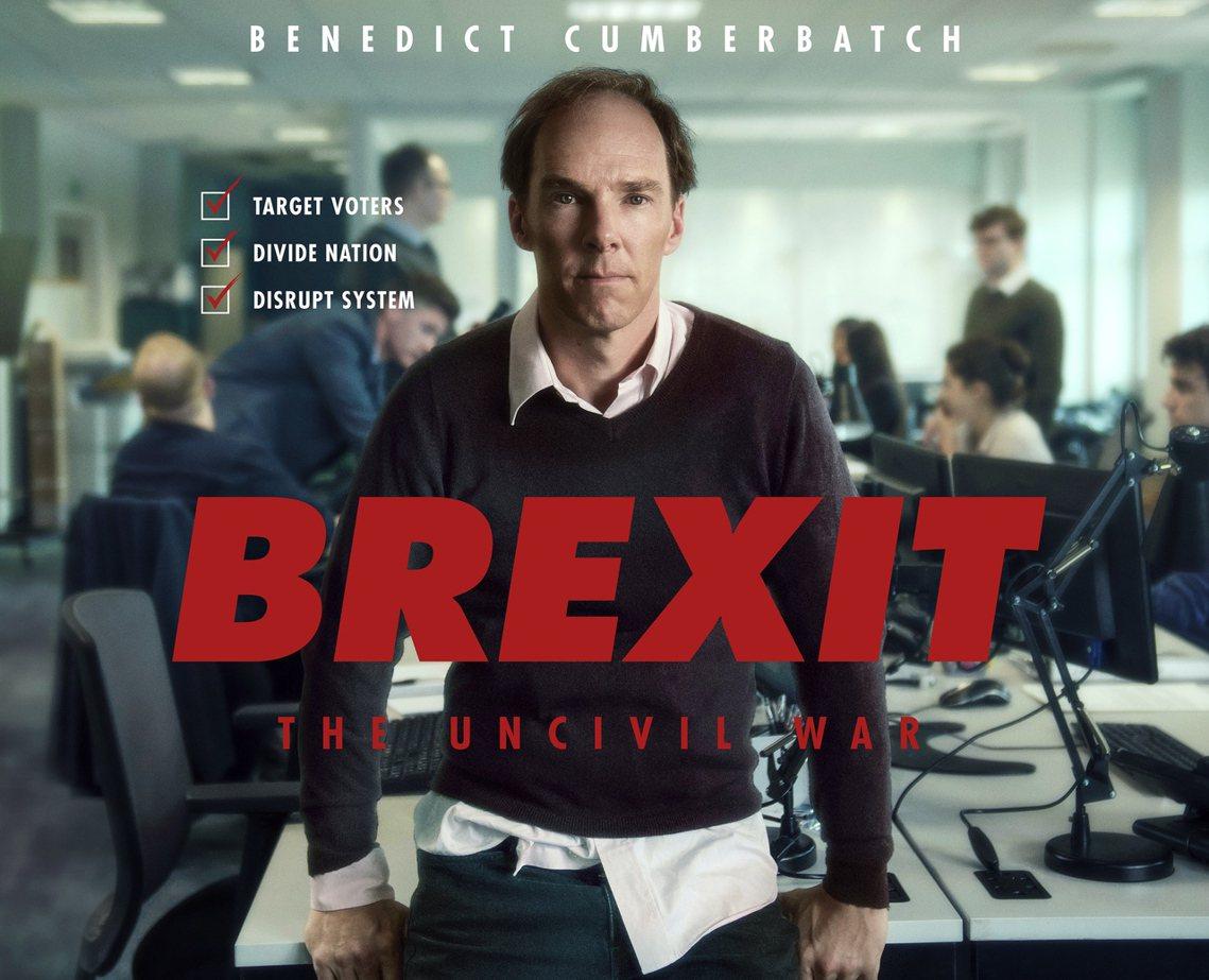年初上映的英國電視電影《脫歐之戰》,因題材緊扣時事災難、以及禿頭扮醜領銜主演的「...