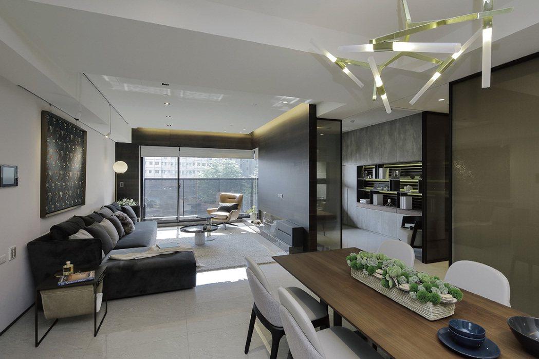 A1(4房)裝潢實景。圖片提供/嵩豐建設