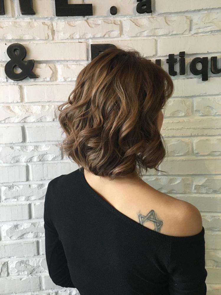髮型創作/amour316 / Raeka Lin。圖/StyleMap美配提供