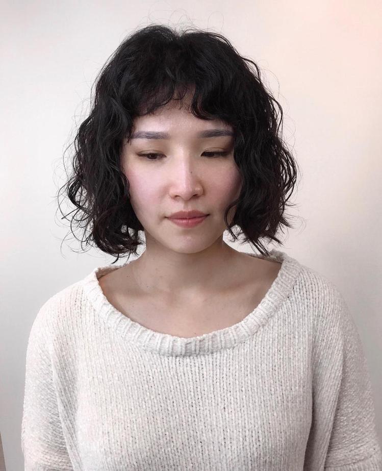 髮型創作/TOP Hair Room / TOP。圖/StyleMap美配提供